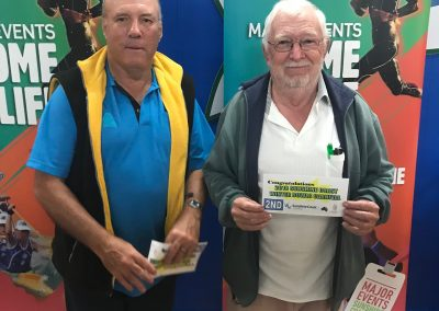 Maroochy AM Pairs Runners Up