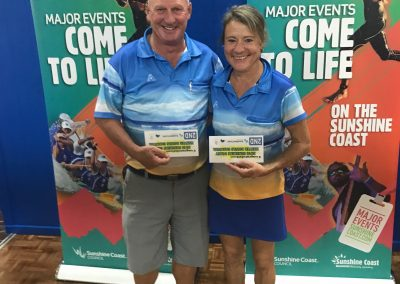 Maroochy PM Pairs Runners Up