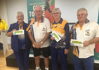 Mooloolaba Fours Winners