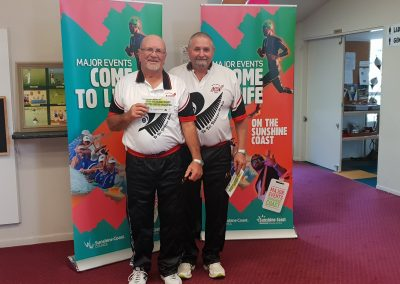 Winter Carnival Event 1 Palmwoods Runners Up Paul Huxtable & Peter Dorreen